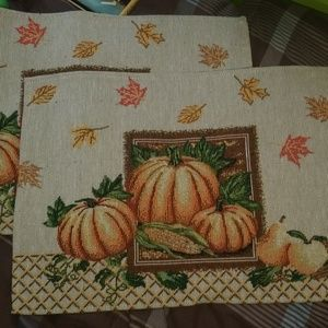 darling fall placemat set of 2
